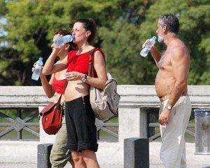 prevenir el golpe de calor