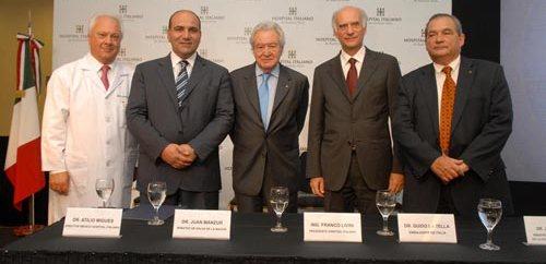 El Hospital Italiano inauguró su nuevo edificio central