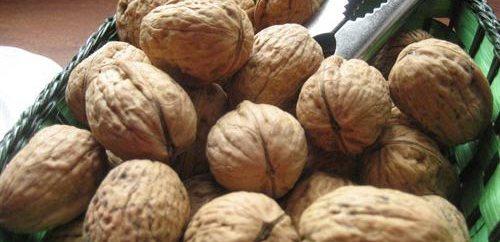 Las nueces son los frutos secos con más antioxidantes