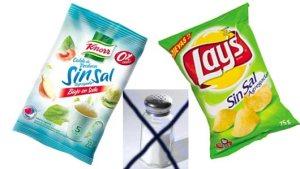 la sal  Industria y Agricultura acuerdan reducir el contenido de sal en la Industria Alimentaria