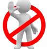 Запретить прием писем от своего домена