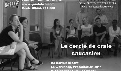 bannière spectacle théâtre le cercle de craie caucasien le workshop