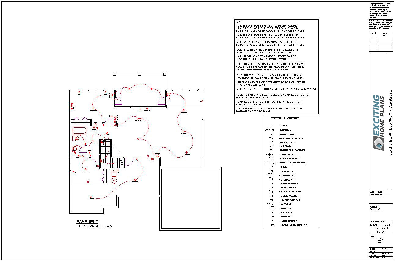 What Does A House Plan Include