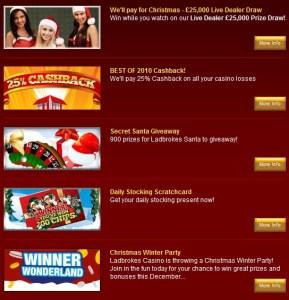 ladbrokes christmas offer