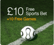 32red Sports Free £10 In Play Bet & Free Spins
