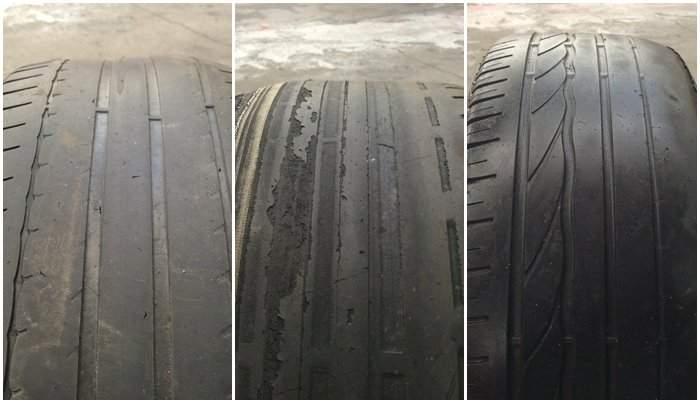 4 raisons pour une usure irrégulière des pneus