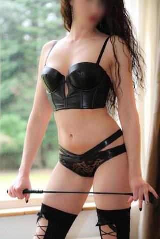 The Mistress in black pvc, kinkstars, role-play fantasy, BDSM Surrey