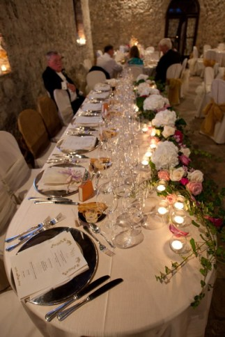 Table of Bride and Groom