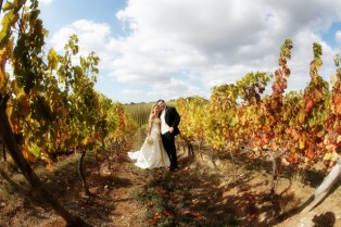 Autumn wedding in Chianti