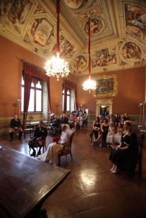 Wedding Hall at the Palazzo Pubblico in Siena