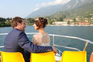 A romantic boat tour after the ceremony