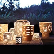 Ceramic lanterns by Westelm.com