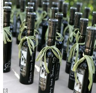 Bottles of Italian olive oil
