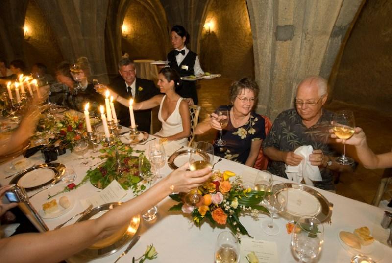 Italian wedding banquet