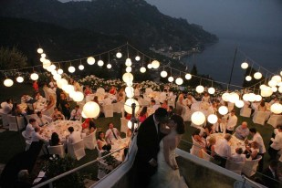 Wedding in Ravello with sea view