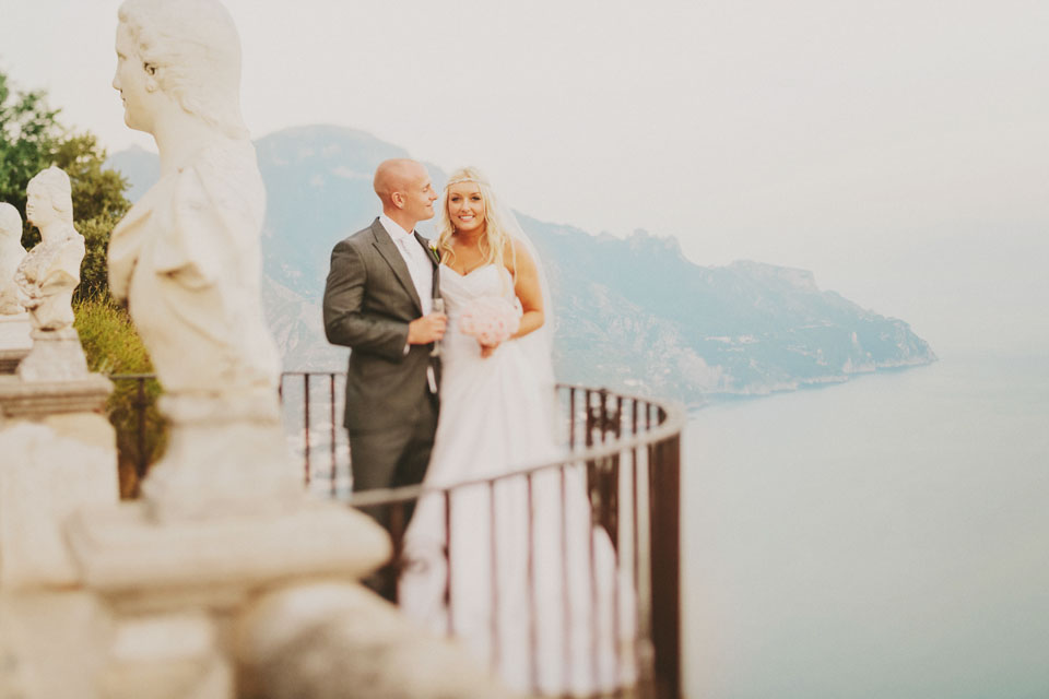 Wedding in Ravello sea view