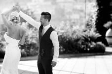 Bridal couple in Ravello