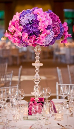 radiant orchid flower decoration