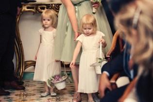 Fifties style wedding on the Amalfi Coast – Flower Girls