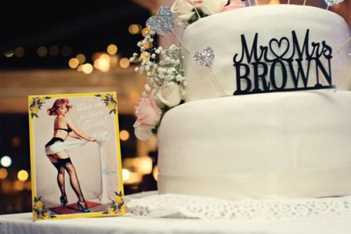 Fifties style wedding on the Amalfi Coast – Cake