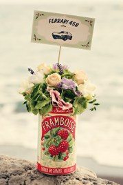 Fifties style wedding on the Amalfi Coast - Flower Decoration