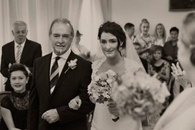Fifties style wedding on the Amalfi Coast – Ceremony