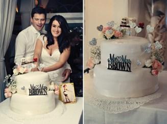Fifties style wedding on the Amalfi Coast – Cutting of the Cake