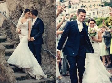 Fifties style wedding on the Amalfi Coast