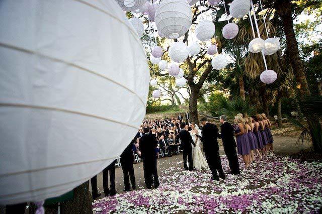 Balloon tree for wedding ceremony