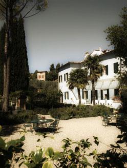Exterior of Villa Bordoni, elegant venue for Tuscany weddings
