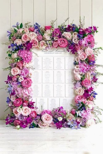 radiant orchid table plan
