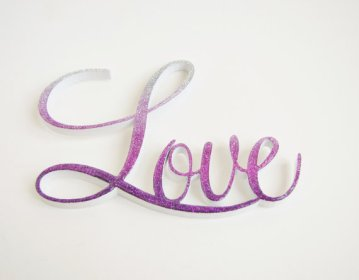 radiant orchid cake topper