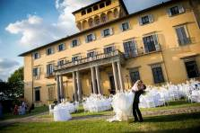 Florence villa for wedding receptions