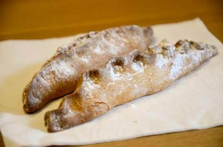 """Impade"" are sweetcrust pastries filled with almond paste, you can find them in Venice."