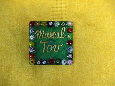 Murano glass magnets