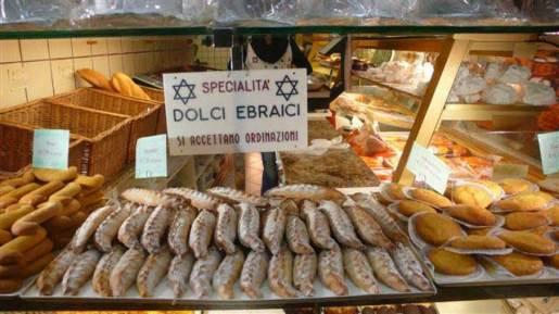 Jewish bakery in Venice