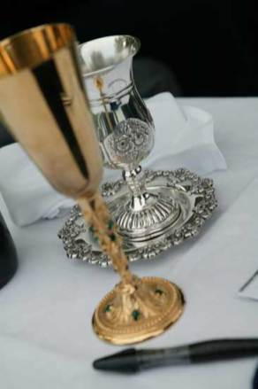 Ceremonial objects for Jewish wedding in Venice