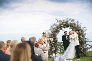 Outdoor ceremony on the Amalfi Coast