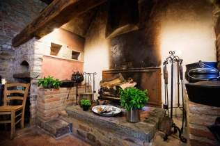 Ancient kitchen in Tuscany