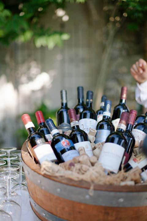 Tuscan Wine for Wedding Reception