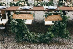 Decoration for Tuscany Wedding