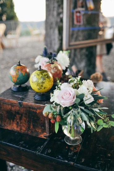 Country chic decoration