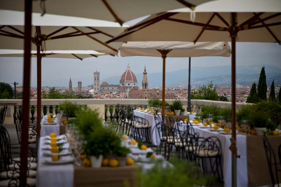 Terrace with fantastic view in Florence
