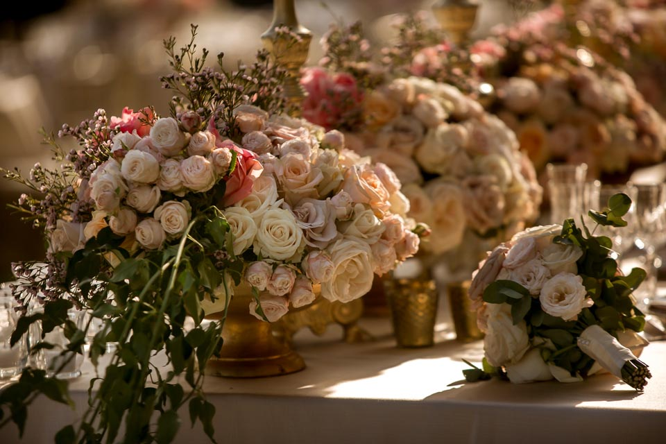 Outdoor Wedding Banquet in Florence