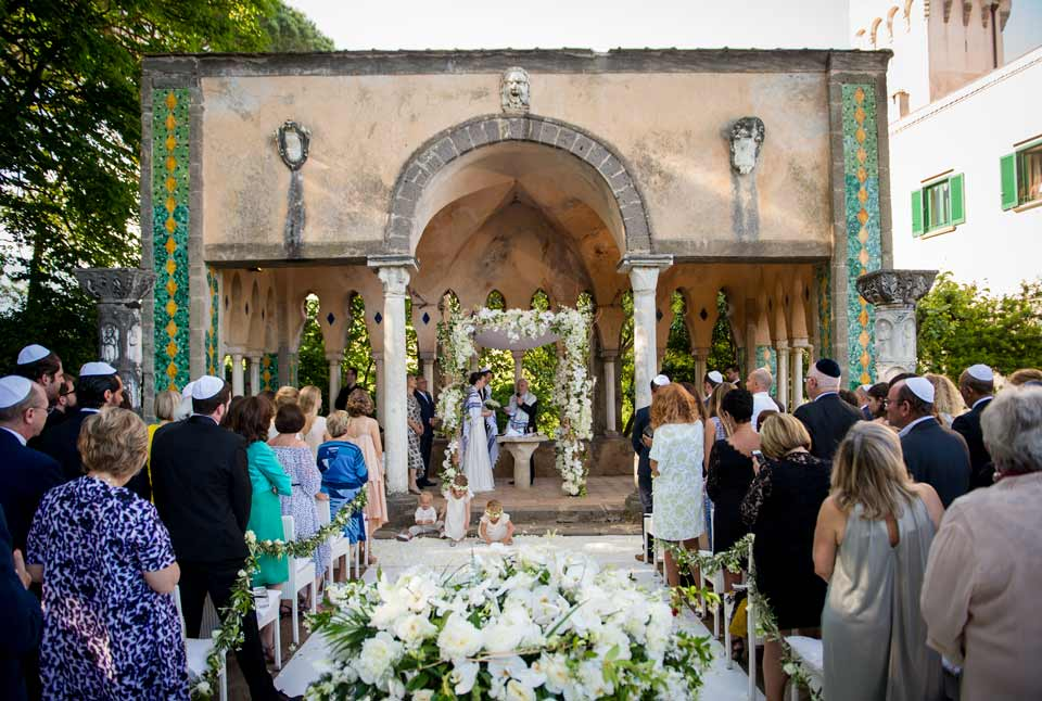 Jewish wedding in Ravello