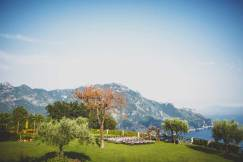 Outdoor terrace for wedding ceremonies on the Amalfi Coast