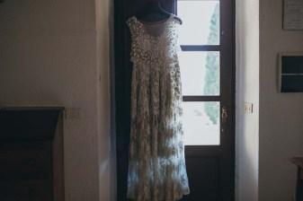 Bridal dress for Tuscany Wedding