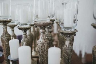 Candles for catholic ceremony
