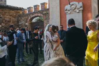 After the ceremony at Modanella castle