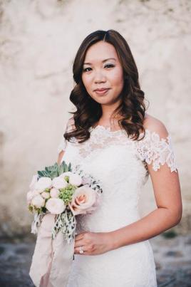Bride at Ravello wedding